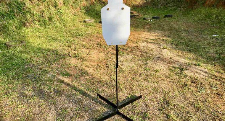 ALVO METÁLICO SILHUETA 300x600mm – AR500 – 12MM