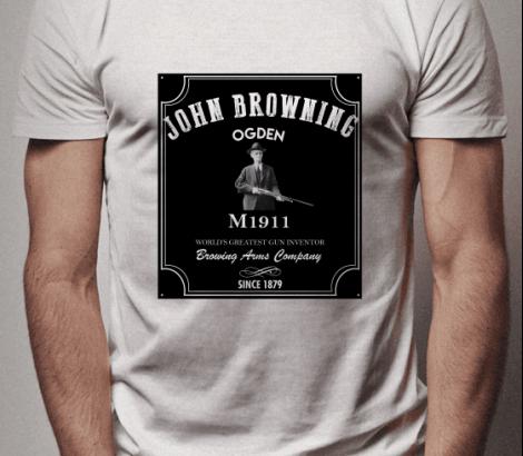 CAMISETA JOHN BROWNING