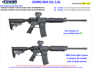 COMBO S&W CAL. 5.56