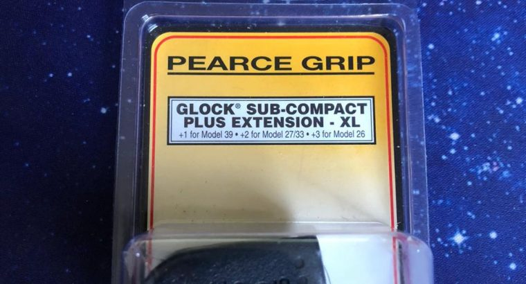 PEARCE GRIP GLOCK SUB-COMPACT EXTENSION