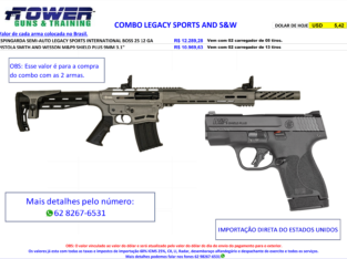 COMBO LEGACY SPORTS AND S&W