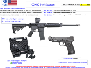 COMBO SMITH AND WESSON