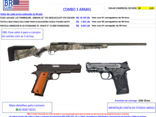 COMBO 03 ARMAS